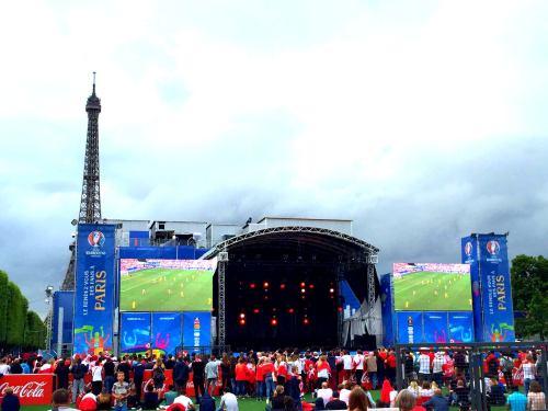 Strefa kibica w czasie Mistrzostw Europy 2016