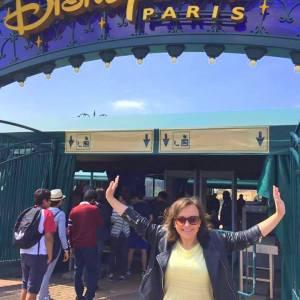 Entrance to Disneyland