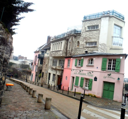 The Pink House in Montmarte