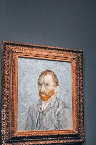 A Self-portrait of Vincent van Gogh at the Orsay Museum
