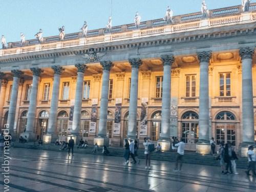 Grand Théâtre w Bordeaux