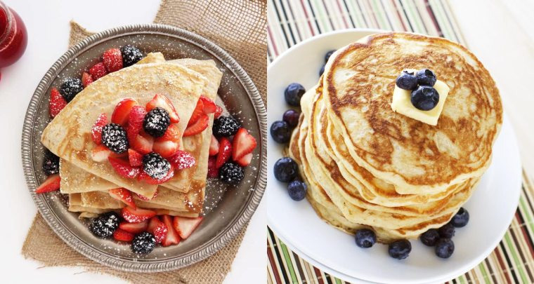 Crepe Pancakes różnice
