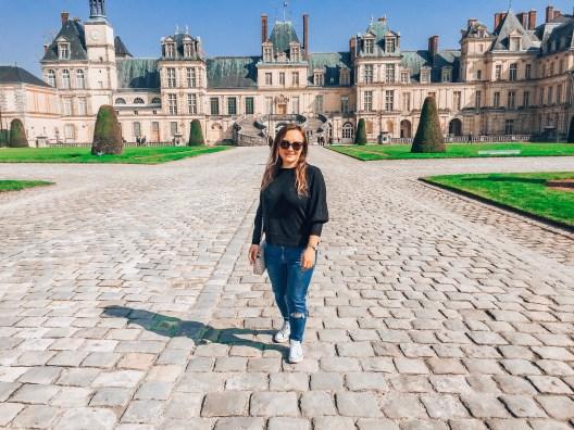 Zamek Fontainebleau