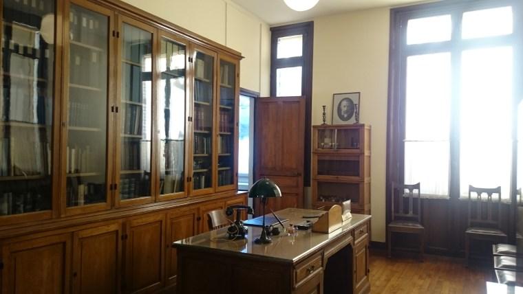 Gabinet Marii Curie w Paryżu