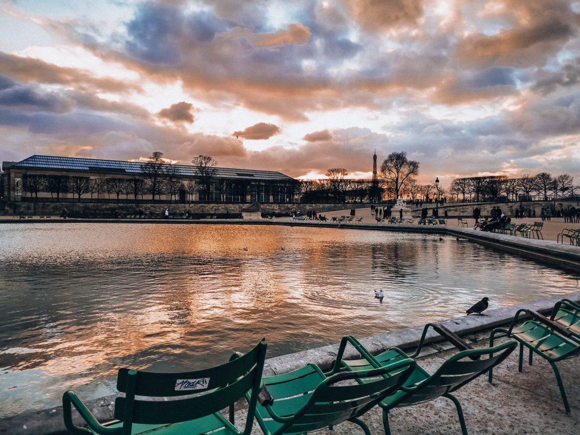 Najpiękniejsze parki w Paryżu - Ogrody Tuileries