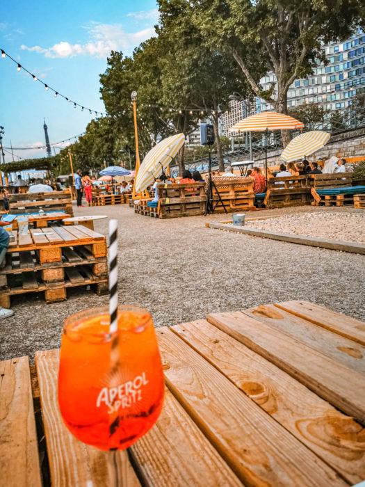 3 najlepsze beach bary w Paryżu
