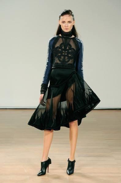 Polskie modelki w Paryżu: Dominika Wycech
