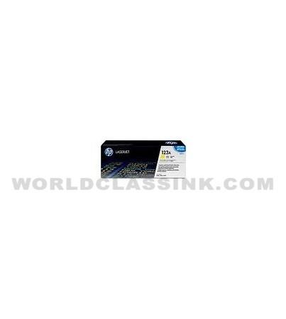 HP Q3972A Toner Cartridge HP 123A Yellow Toner Q3972