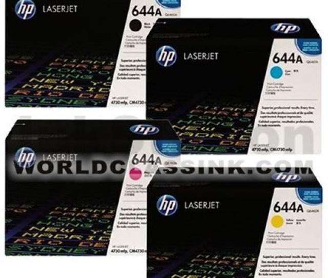 Hp 644a Value Pack Toner Cartridge