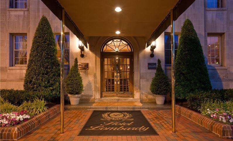 Hotel Lombardy. Washington. District of Columbia. Wedding Venue