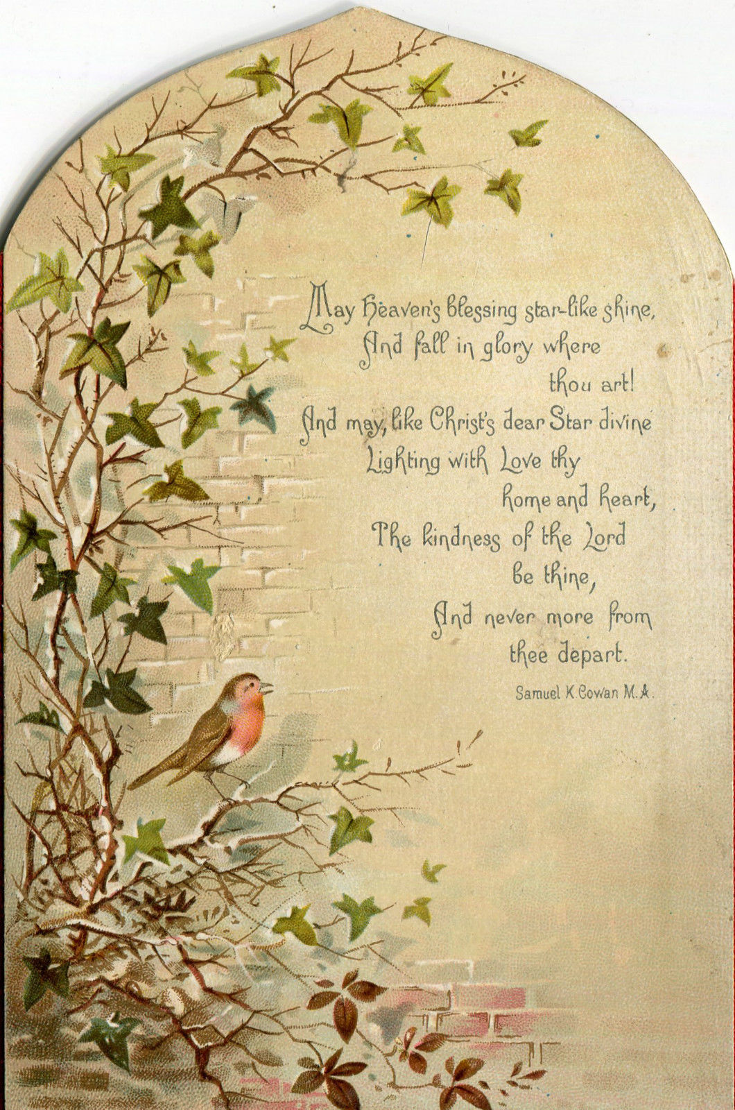 Victorian Christmas Cards Background And Price Guide