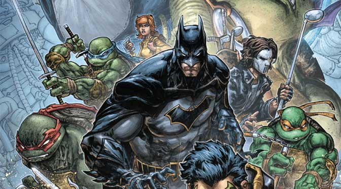 Batman - Teenage Mutant Ninja Turtles II #1 (Review)