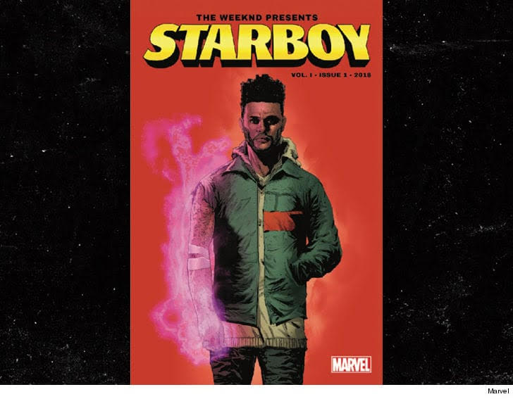 The Weeknd and Marvel's Starboy Comic in Court