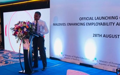 US$20m project launched to 'enhance youth employability' – Maldives Independent