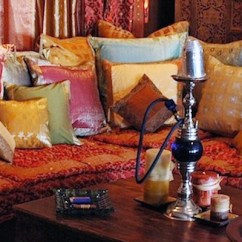 Old World Style Living Room Furniture Decor Ideas Small Apartments Indian Inspired Décor: Bedding, Furniture, Cushions ...