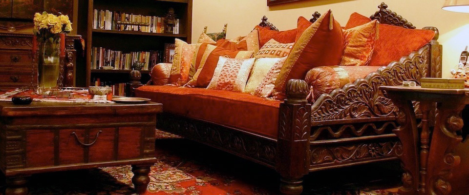 Indian Inspired Dcor Furniture Bedding Cushions