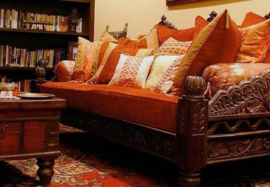 Indian Inspired Decor Bedding Furniture Cushions