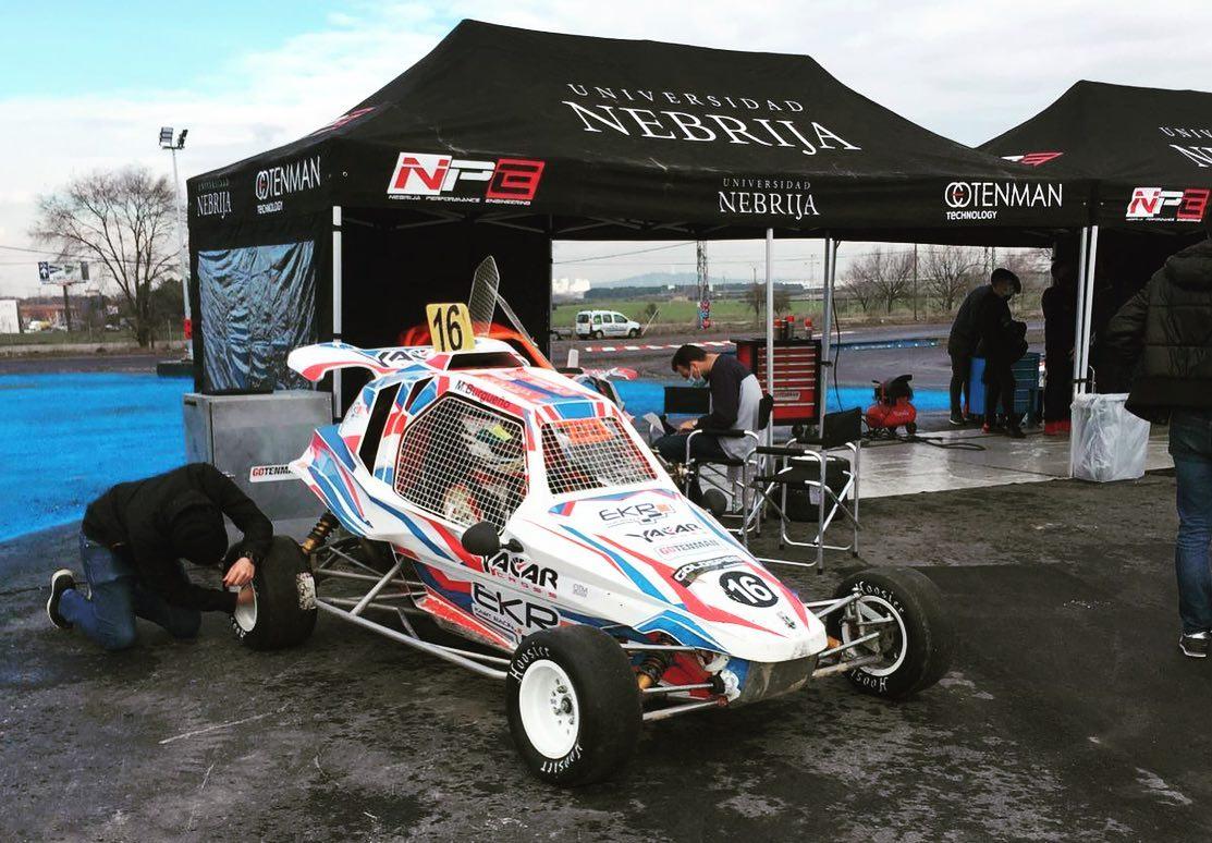 Kart cross de competicion