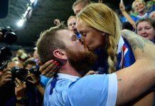 Iceland Captain Aron Gunnarsson Girlfriend