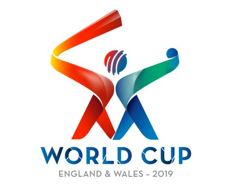 Official Logo for 2019 ICC Cricket World Cup