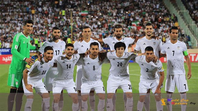 Iran Team Squad