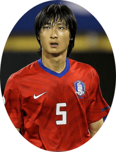 Kwak Tae-hwi is a South Korean football player who currently plays for FC Seoul and South Korea national football team. Kwak is blind in his left eye, after being hit in the face with a football during public school.