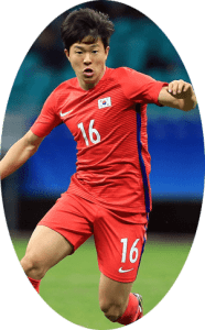 Kwon Chang-hoon is a South Korean footballer who plays as an attacking midfielder for Dijon in the Ligue 1 and South Korea national team.