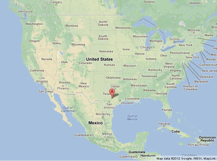Explore the map of texas, the second largest state in the usa, by both area and population. Austin Texas On Us Map