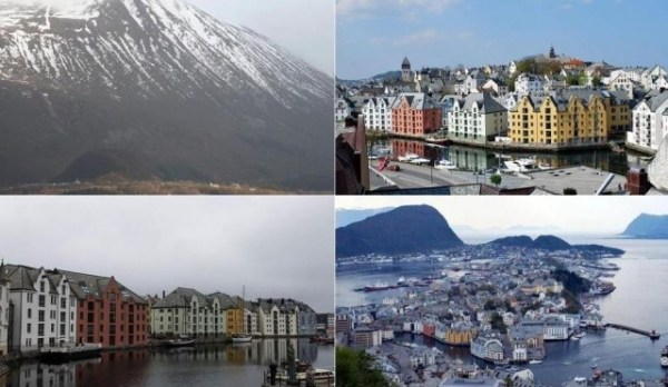 Alesund beautiful town in Norway World Easy Guides