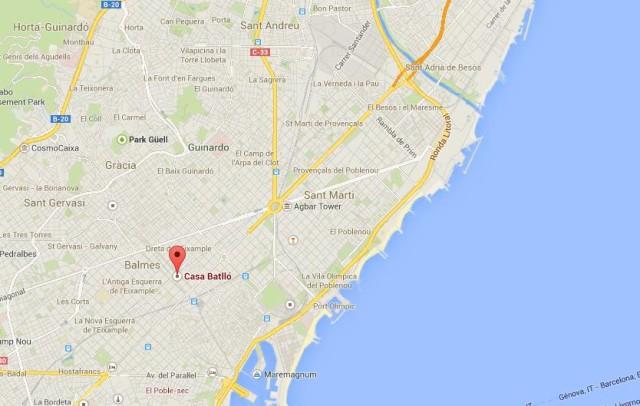 Casa Batll Gaudis works in Barcelona  World Easy Guides