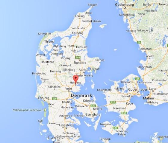 Image result for horsens map
