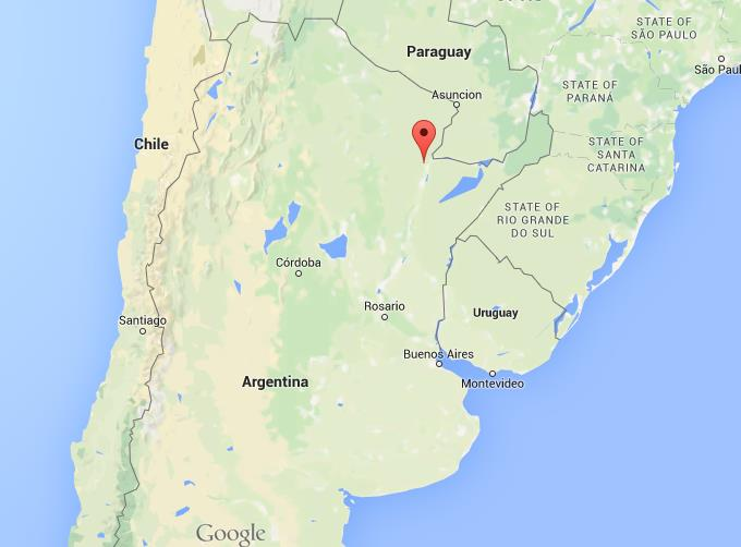 Where Is Resistencia On Map Argentina