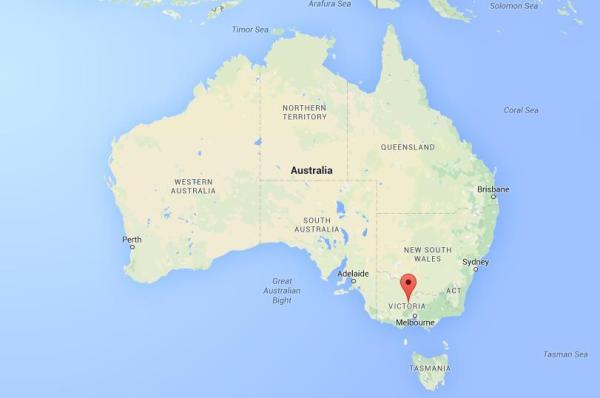 Where is Bendigo on map Australia