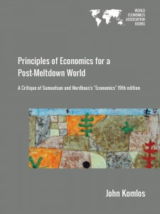 Cover of Principles of Economics for a Post-Meltdown World
