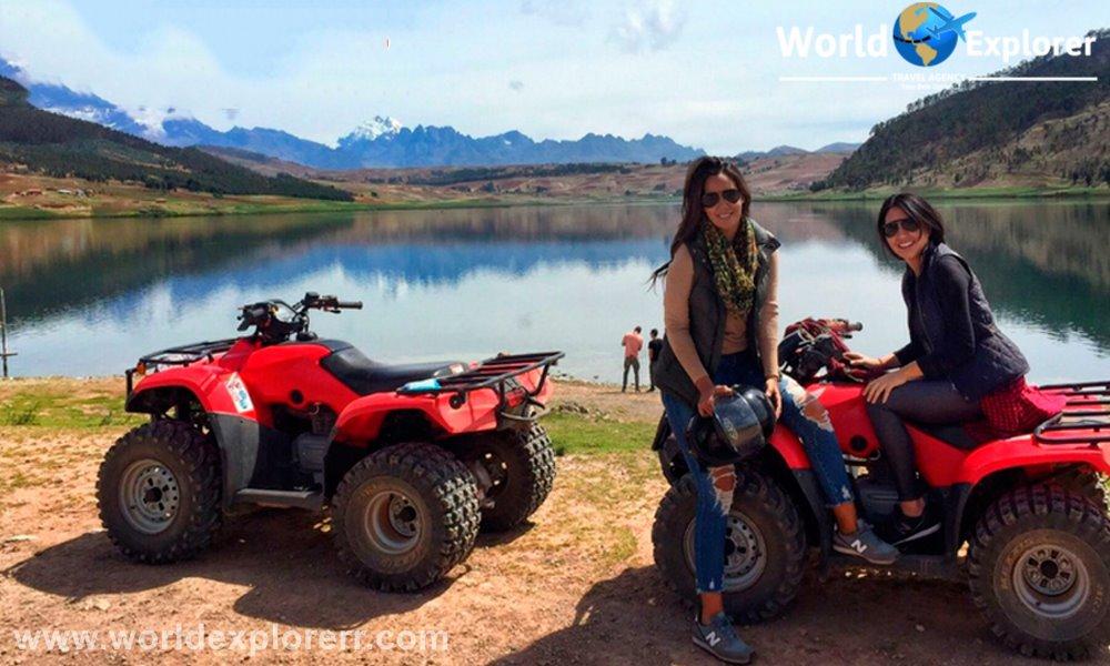 Cuatrimotos Lagunas Huaypo Este recorrido en ATV está diseñado para familias, grupos, amigos, etc., que buscan aventura. Visitando los lugares más típicos y tradicionales del Cusco,