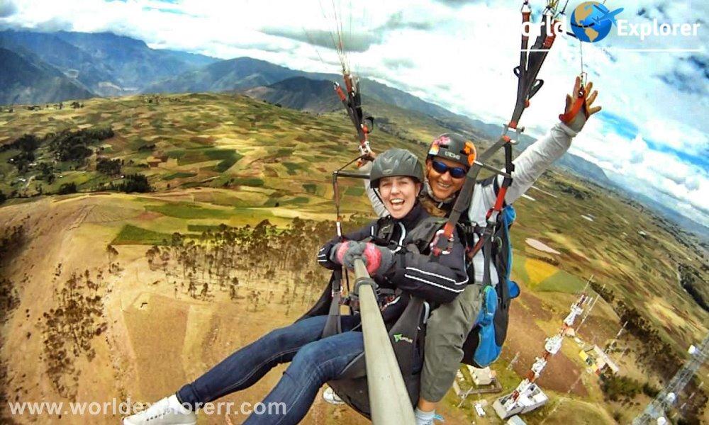 Parapente Valle Sagrado de los Incas , Si es Ud. un deportista de aventura, atrevase a realizar el vuelo en Parapente sobre el Valle Sagrado de los Incas… y Viva la aventura de volar,