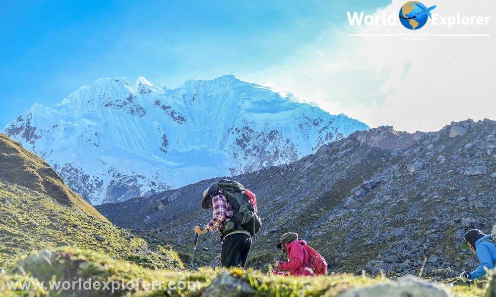 Salkantay Trek 5 Dias , Esta Caminata Salkantay a Machu Picchu de 5 días es una extraordinaria ruta que te llevara a explorar hermosos lugares y sitios arqueológicos.