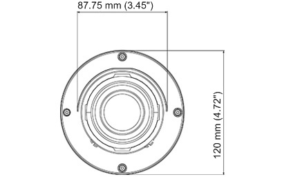 GV-BL1511 1.3MP 3-9mm Motorized Bullet cam, 3x Zoom, Super