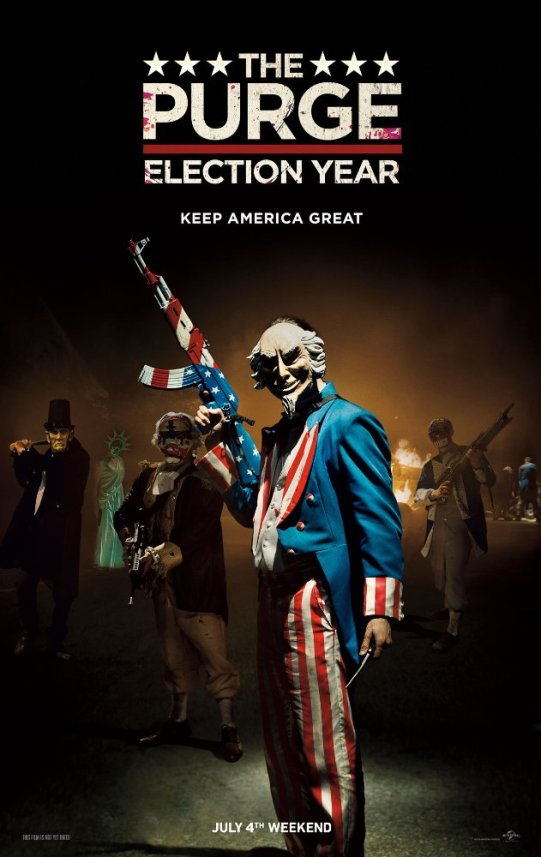 The Purge Election Year (2016) DVDScr 750MB