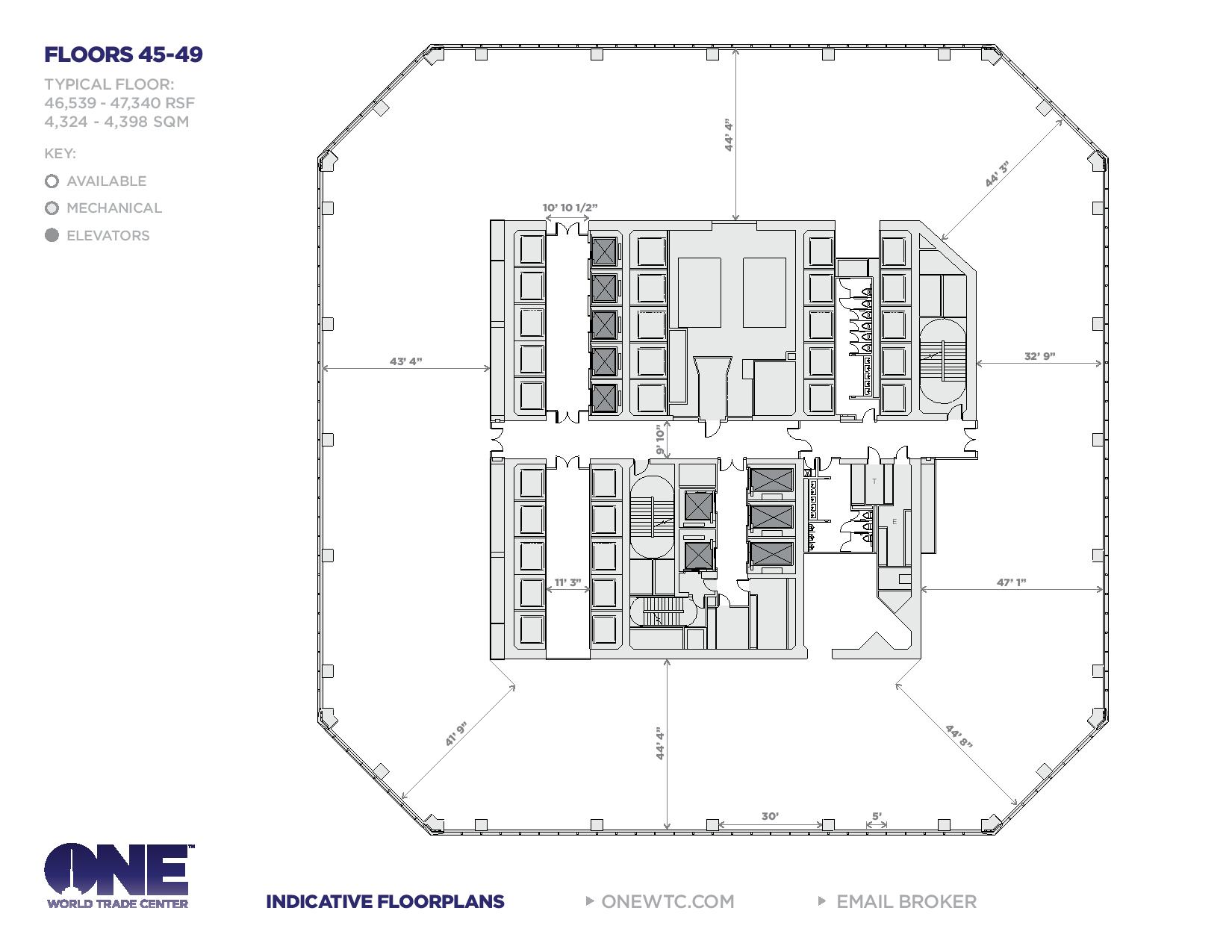hight resolution of one world trade center freedom tower floor plans new york city