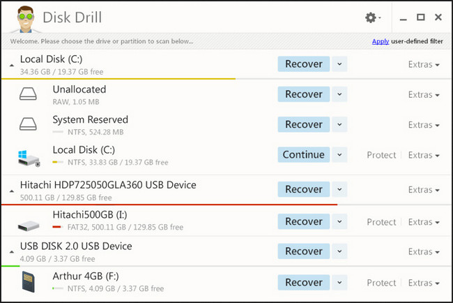 Disk Drill Professional 2.0.0.313