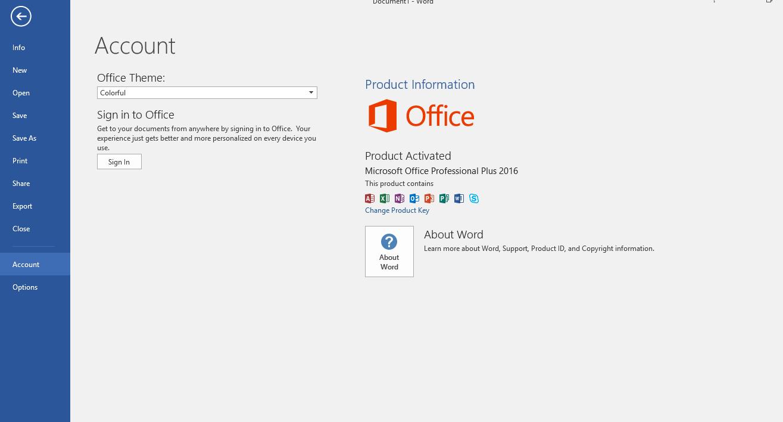 Ms Office Pro Plus 2016 crack download