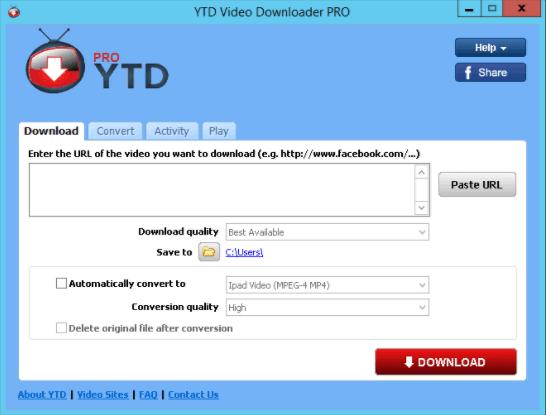 YTD Video Downloader Pro 5 crack download