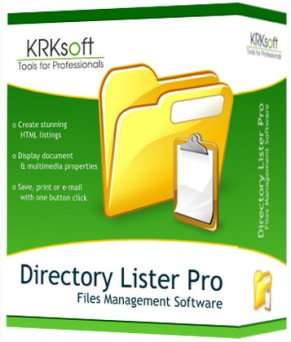 Directory Lister Pro 2.17.0.290