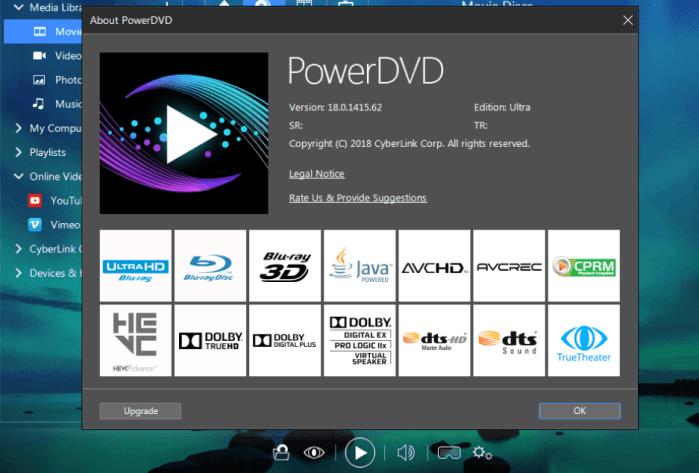 CyberLink PowerDVD Ultra 18 crack download