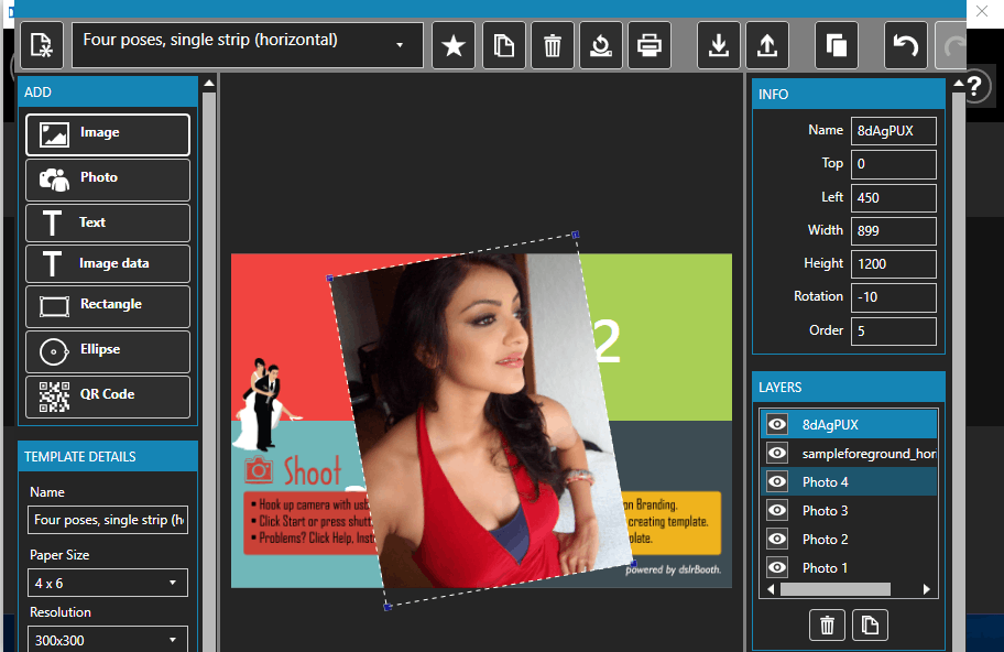 dslrBooth Photo Booth Software Pro 5 free download
