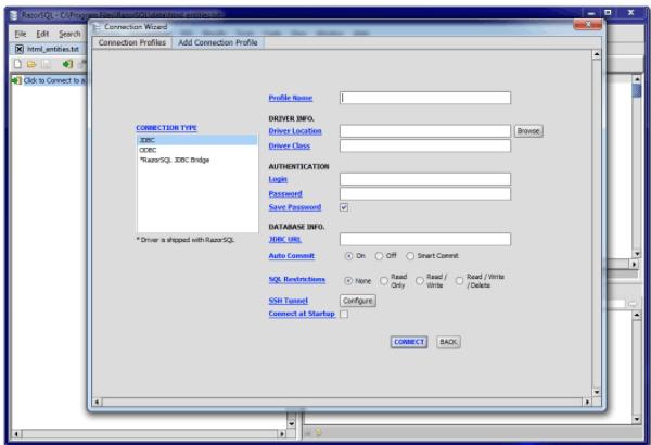 Richardson software RazorSQL crack download
