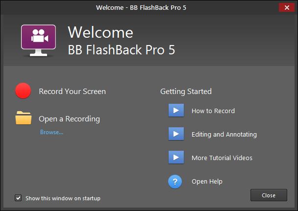 BB FlashBack Pro 5.28.0.4309