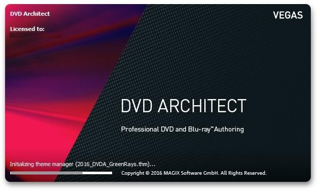 MAGIX Vegas DVD Architect 7.0.0 Build 84