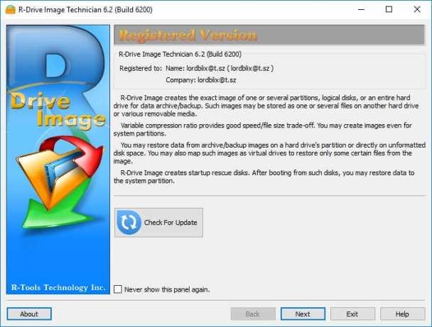 R-Drive Image 6.2 Build 6200